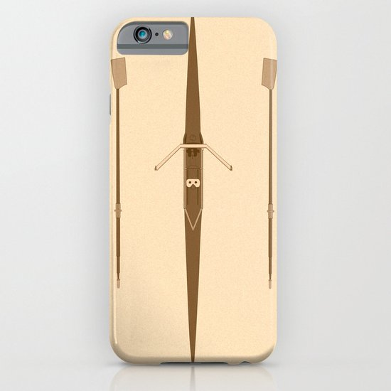 rowing single scull iPhone & iPod Case