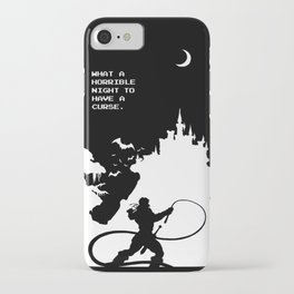 What a Horrible Night to Have a Curse iPhone Case