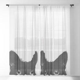 Are you awake yet? Sheer Curtain