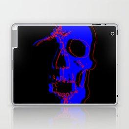 Skull - Blue Laptop & iPad Skin