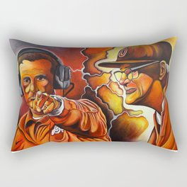 Frequency of Champions Rectangular Pillow
