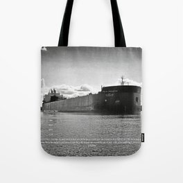 Paul R Tregurtha With Stats Tote Bag