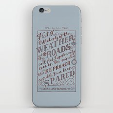Jane Austen Covers: Sense and Sensibility iPhone & iPod Skin