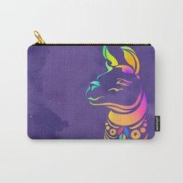 Llamita violeta by #Bizzartino Carry-All Pouch