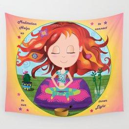 Meditation Om Zen Wall Tapestry