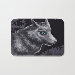 Wolfie Bath Mat