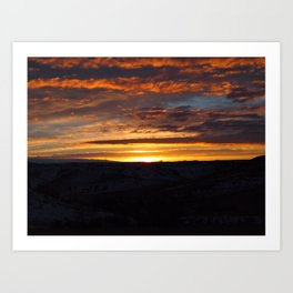 Canvas in the Sky Art Print