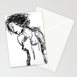 Girl, Scratch Stationery Cards