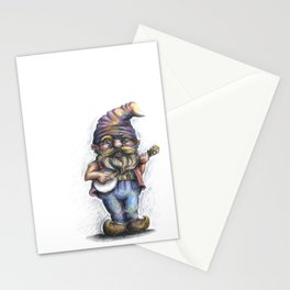 Hillbilly Gnome Stationery Cards