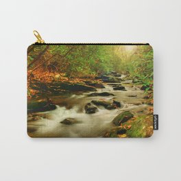 Fall Along Rock Castle Carry-All Pouch