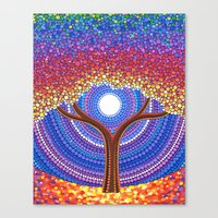 secret life Canvas Prints featuring Secret Life of Trees by Elspeth McLean