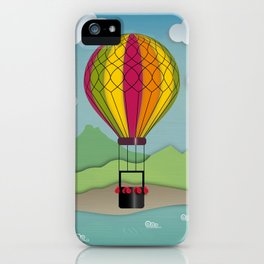 Balloon Aeronautics Sea & Sky iPhone Case