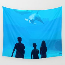 Adventure Meeting the sea Wall Tapestry