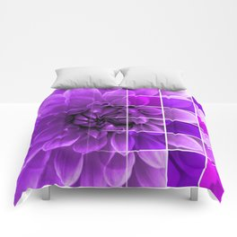 Chequered Flower design Comforters