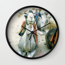 Camel 01 Wall Clock