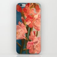 sword iPhone & iPod Skins featuring Sword Lilies by prismacupcake