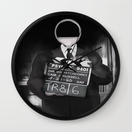 Corky the Film Director Wall Clock