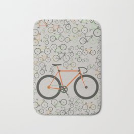 Fixed gear bikes Bath Mat