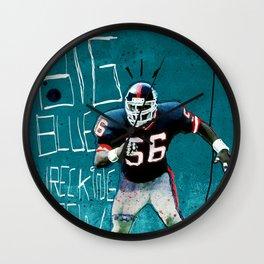 NY Giants' Lawrence Taylor Wall Clock