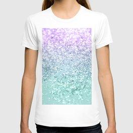 Mermaid Girls Glitter #1 #shiny #decor #art #society6 T-shirt