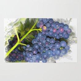 Concord grape Rug