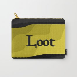 Loot: Color Gold Carry-All Pouch