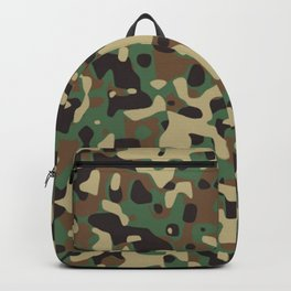 Military camouflage pattern Backpack
