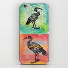 Four Ibis Silhouettes iPhone Skin