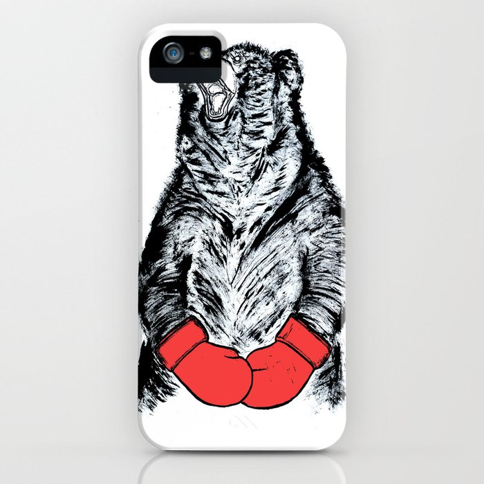 Boxing Bear iPhone Case