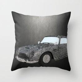 James Bond Aston Martin DB5 Throw Pillow