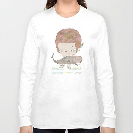 Extinction - SAVE SAFE Long Sleeve T-shirt
