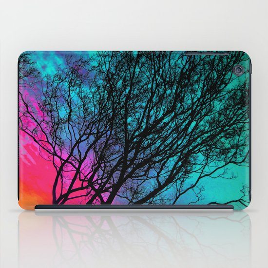 Behind The ol' Crape Myrtle iPad Case