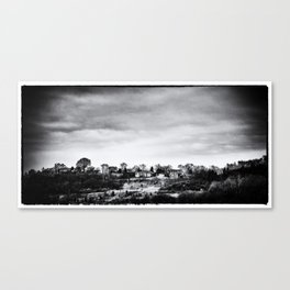 Up the Hills, Past the Cities Canvas Print
