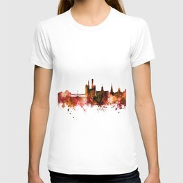 Iowa City Iowa Skyline T-shirt