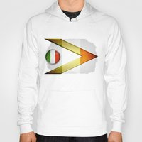 italy Hoodies featuring Italy by ilustrarte
