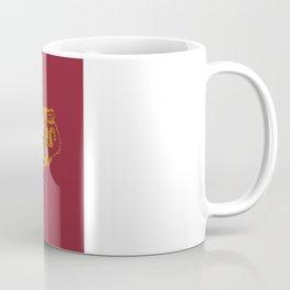 Elon University North Carolina State - Maroon and Gold University Design Coffee Mug