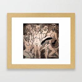 Xenophilia (10) Framed Art Print