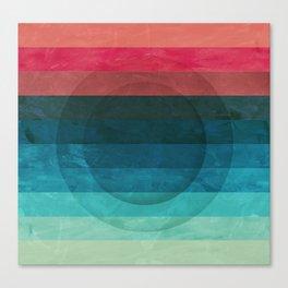 Colors Feels Like We Only Go Backwards - V04 Canvas Print