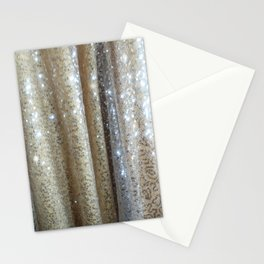 Champagne Glitters Stationery Cards