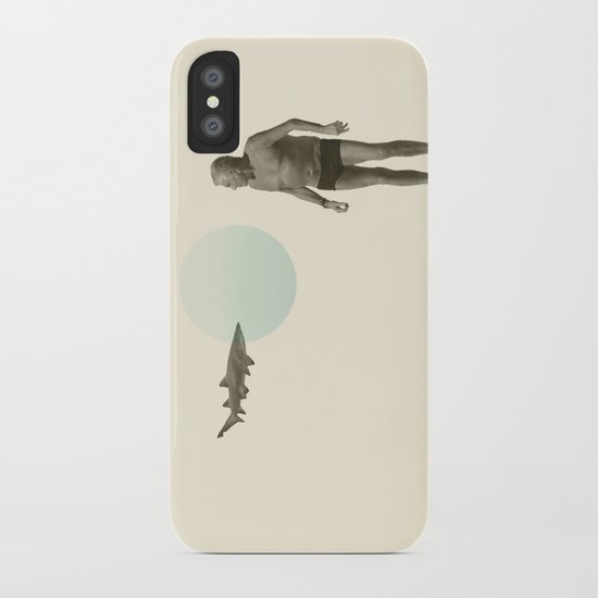 shark bate iPhone Case