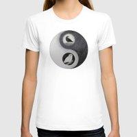 yin yang T-shirts featuring  Yin & Yang  by Owl Art Suri