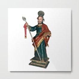 San Judas Tadeo Metal Print