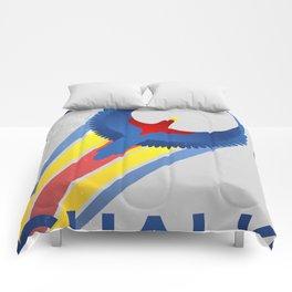 ROCK CHALK JAYHAWK Comforters