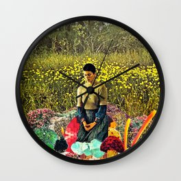 Swamp Meditation Wall Clock