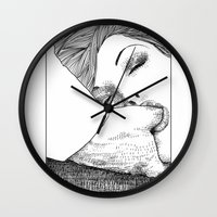 apollonia Wall Clocks featuring asc 28 - L'invitation by From Apollonia with Love