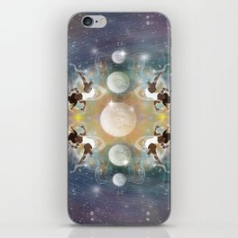 MoonGazer iPhone Skin