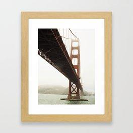 San Francisco Bay Bridge  Framed Art Print