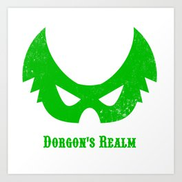 Dorgon's Realm: Green Art Print