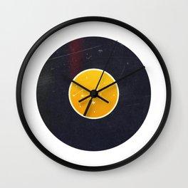 Vinyl Record Zodiac Sign Leo Wall Clock