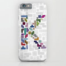 letter k - gaming blocks iPhone 6s Slim Case